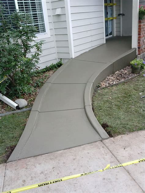 Custom Concrete Ramp Aurora, CO   Accessible Systems