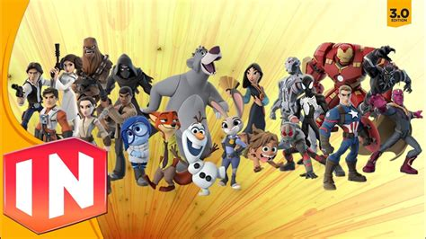 disney infinity for characters disney infinity 3 0 all character previews remembering