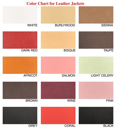Leather Colors by Luxury Style Exquisite Made To Order Luxury Leather