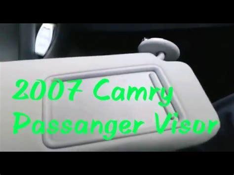 Toyota Camry Sun Visor Recall Toyota Camry Sun Visor Recall Learn How To Repair Cars