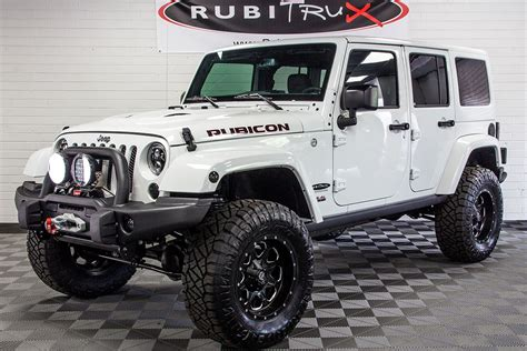 white jeep 2017 2017 jeep wrangler rubicon unlimited hemi white