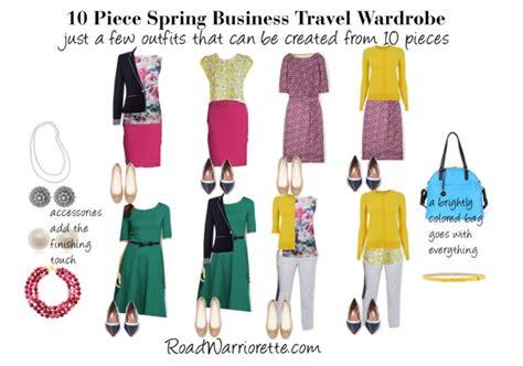 10 piece wardrobe outfits 10 piece spring business travel wardrobe road warriorette
