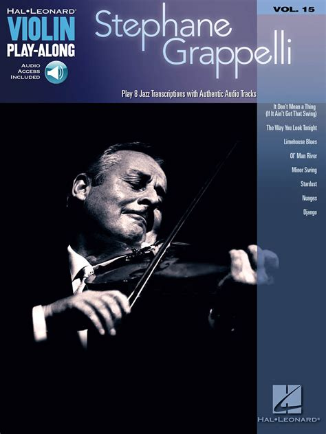 minor swing backing stephane grappelli violin play along volume 15 book