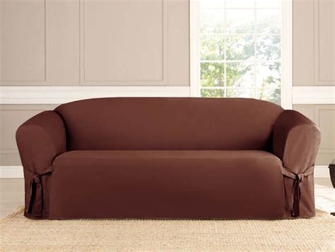 Brown Sofa Slipcover Micro Suede Slipcover Sofa Loveseat Chair Furniture Cover