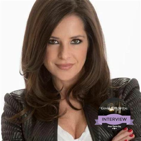 rebecca herbst illness general hospital interview kelly monaco dishes on sam