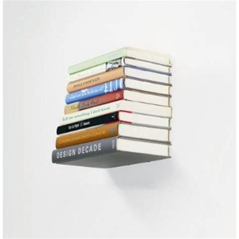 umbra conceal floating book shelf umbra conceal usynlig hylde boghyldeinvisible shelf k 248 b i