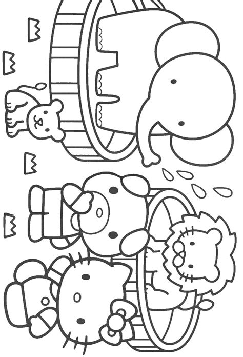 hello kitty baking coloring pages free coloring pages of hello baking