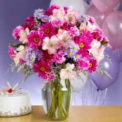 birthday flower delivery shower of birthday flowers