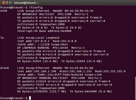 configure ubuntu server eth0 11 10 how do i ping the ubuntu host system from a