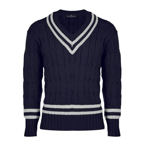 in sweater navy blue s cricket sweater smart turnout