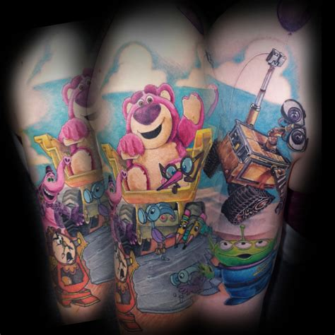 disney characters with tattoos a different image home page