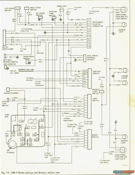 1986 ford f250 wiring diagram wiring diagram with