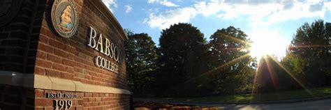 Babson College Mba Ranking Bloomberg by Babson S Mba Program Ranked 1 For Entrepreneurship 24