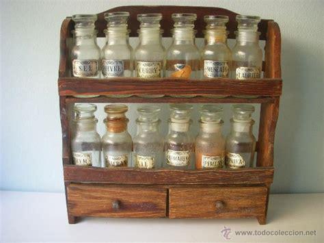 como hacer especiero de madera antiguo especiero de madera tarros de cristal comprar