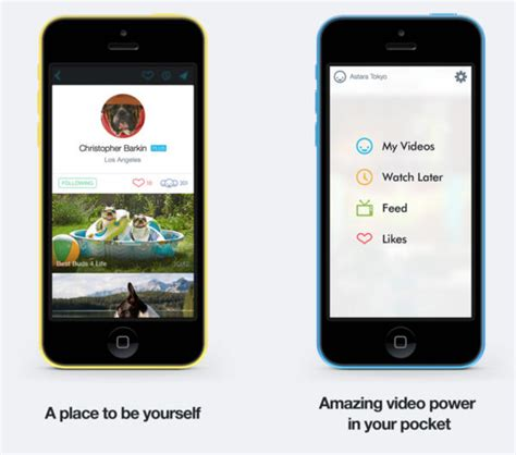 apple partner vimeo revs its ios app with new design
