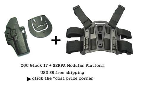 Barracks Airsoft Blackhawk Cqc Holster Set For Glock 1 glock 17 holster cqc platform at cost price popular airsoft