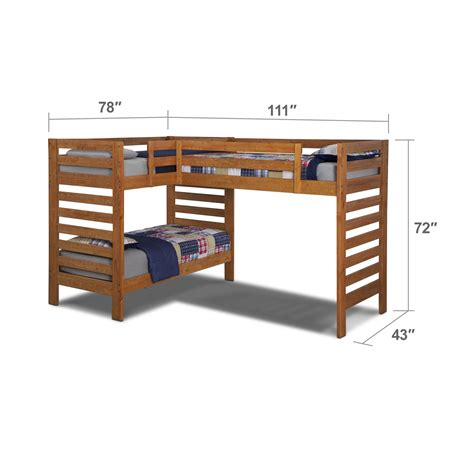 L Shaped Low Bunk Beds L Shaped Low Loft Beds For
