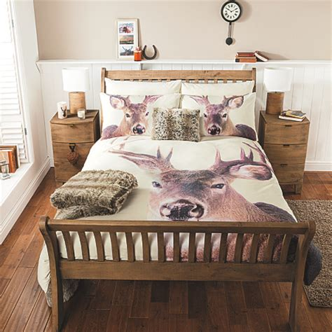 asda bed sets george home photographic stag duvet set bedding asda