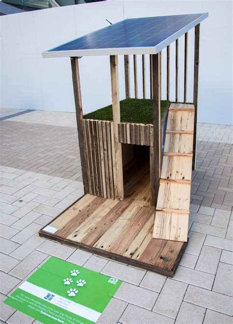 solar dog house adaptable solar dog house green passive solar magazine