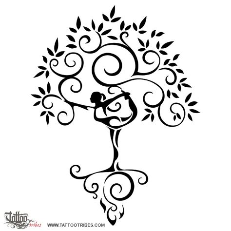 yoga tattoo designs of healing custom designs on