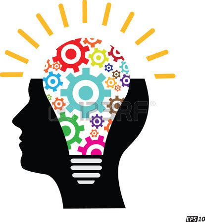 creative clipart creative clipart thinker pencil and in color creative