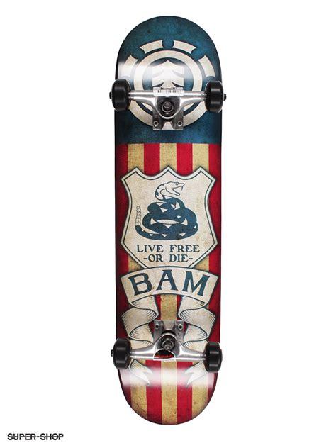 bam skateboard decks element skateboard bam tread 7 625