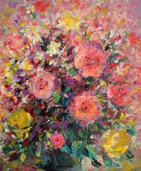 painting acrylic flowers a z 10 best images about flowers mario zedroni on