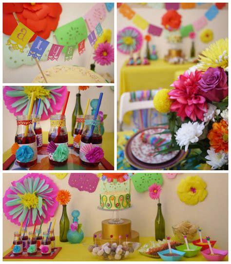 Mexican Themed Decorations by Colorful Mexican Themed Birthday Of