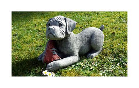 Dachshund Planter boxer puppy garden ornament onefold uk