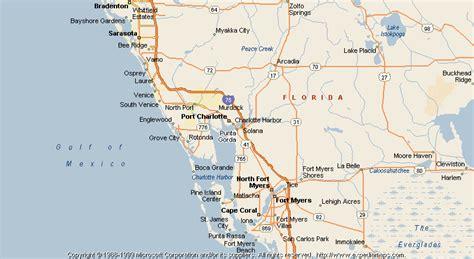 punta gorda florida map map of punta gorda