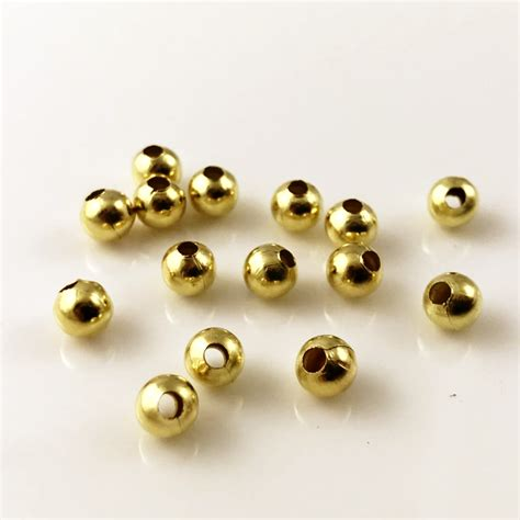 Spacer 8mm 50 gold plated spacer 8mm
