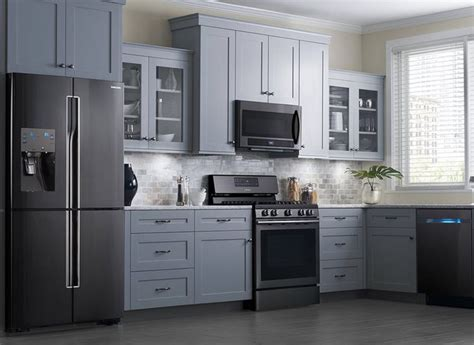 slate appliances with off white cabinets 17 best ideas about slate appliances on pinterest black