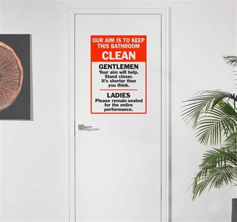 bathroom door stickers bathroom door stickers home design