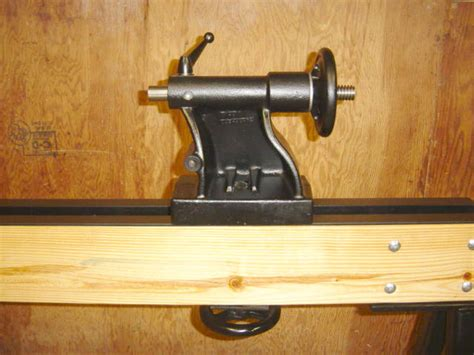 Wood Lathe Tailstock Pdf Woodworking
