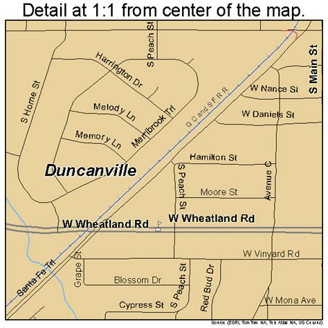 map of duncanville texas duncanville texas map 4821628