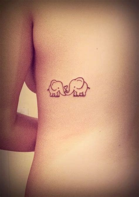 elephant mom and baby tattoo elephant and baby search tattoos