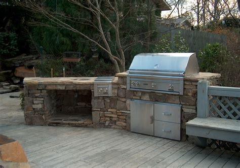 Backyard Grill Enclosures Outdoor Kitchens And Grill Enclosures Patio Atlanta