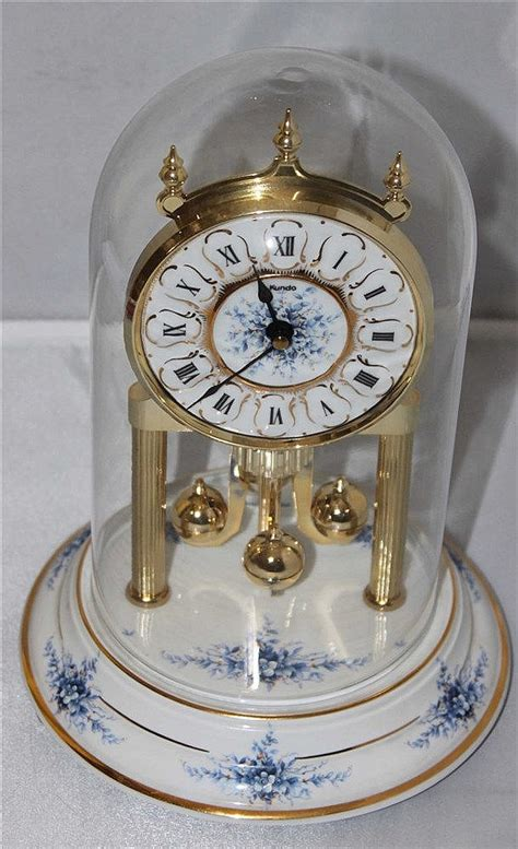 Glass Dome Table L by Table Pendulum Clock Of Porcelain Glass Dome Quot Kundo Quot