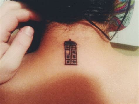 tardis tattoo design tiny tardis pairodicetattoos