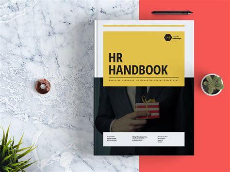 Employee Handbook Template Stockindesign Employee Handbook Cover Design Template