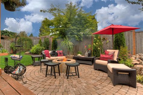 patio with pit patio ideas with pit patio traditional with grass lawn outdoor cushions beeyoutifullife