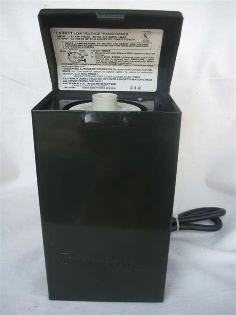 low voltage timers for outdoor lighting low voltage lights and timer for sale classifieds