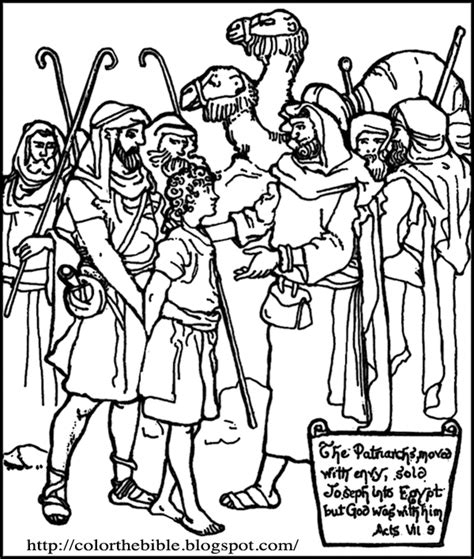 free coloring pages of joseph and his brothers joseph sold into slavery coloring pages az coloring pages