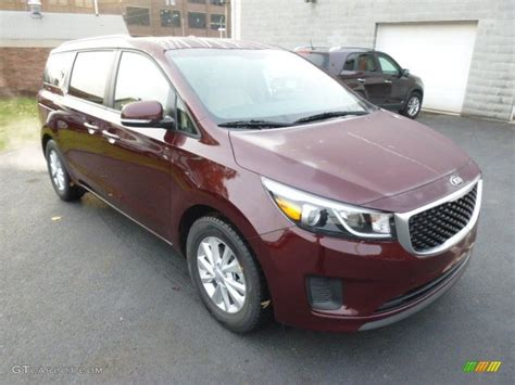 kia sedona 2015 colors 2015 black berry kia sedona lx 98502623 photo 2