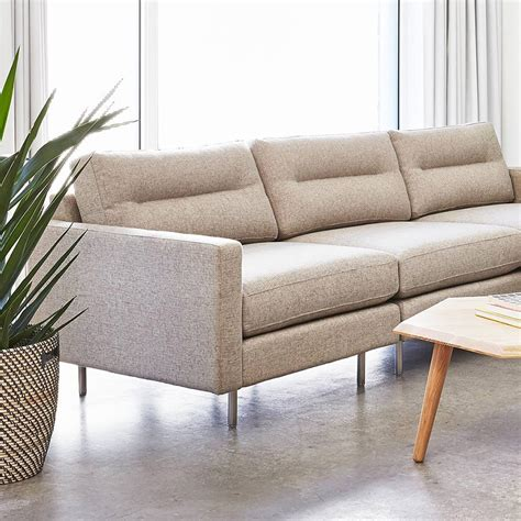 driftwood sofa gus modern logan sofa in leaside driftwood eurway