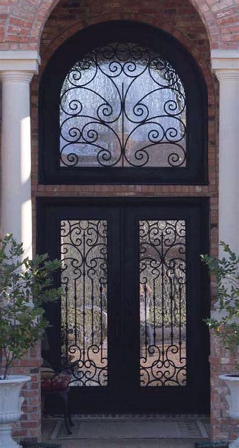 exterior wrought iron doors beautiful wrought iron exterior doors pictures interior