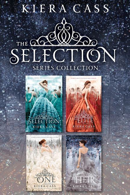 the series books the selection series 4 book collection kiera cass e book