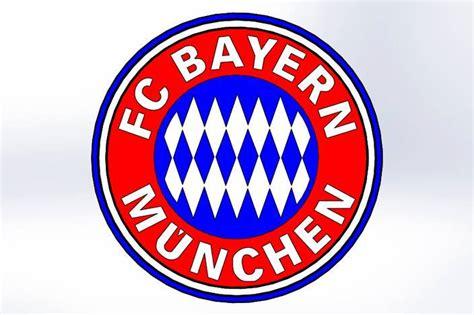 Design Custom Bayern Munchen 004 fc bayern munchen logomachine embroidery pattern insant