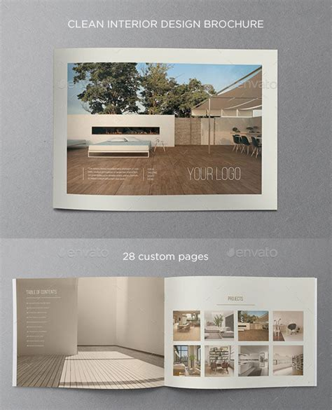 Interior Brochure Design by 20 Amazing Interior Design Brochure Templates Pixel Curse