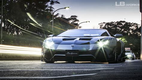 subaru liberty walk lb works lamborghini aventador limited edition liberty